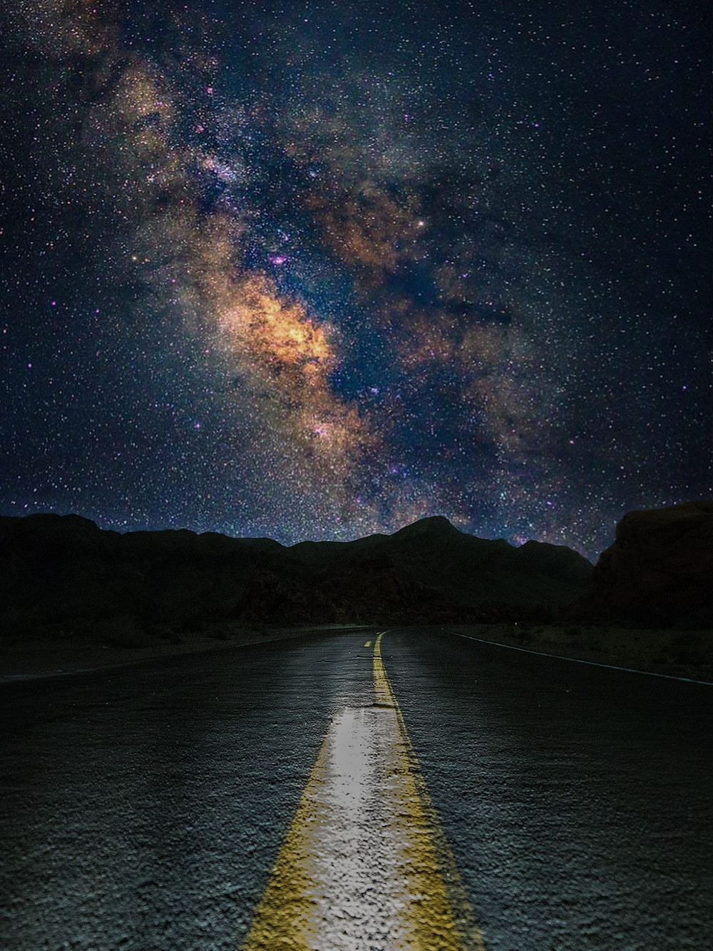 MilkyWay over Valley of Fire Nevada (c) by Tom Lichtenwalter
