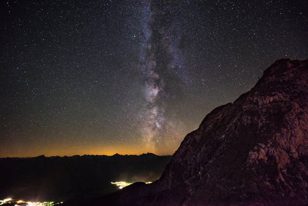 Aggenstein Milky Way