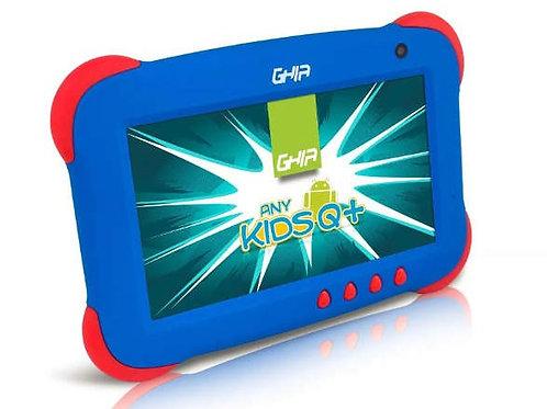 TABLET GHIA KIDS 7 AZUL QUADCORE 1GB/8GB 2CAM WiFi AND8.1(NOTGHIA-214)