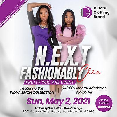 N.E.X.T Fashionably Chic Fashion Show by G'Dora