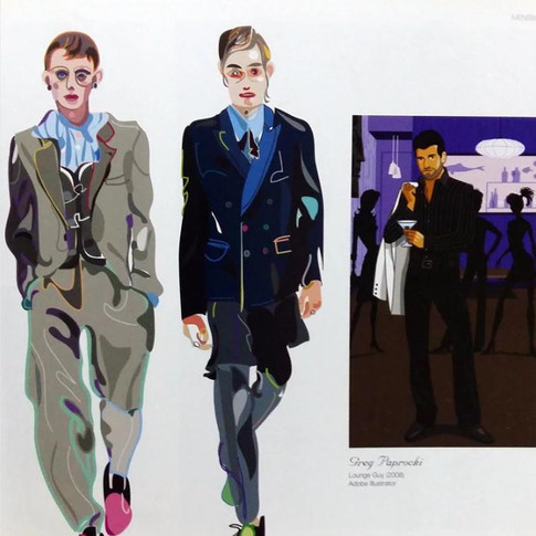 great big book of Fashion Illustration The great big book of Fashion Illustration by. Martin Dawber (the UK, 2011), Fashion Illustrated by. HANMISUK (20010)