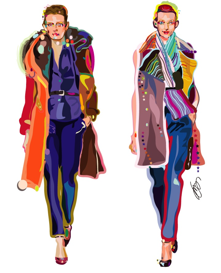 Fashion Illustration 2012