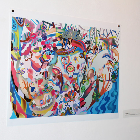 Digital painting 디지털회화