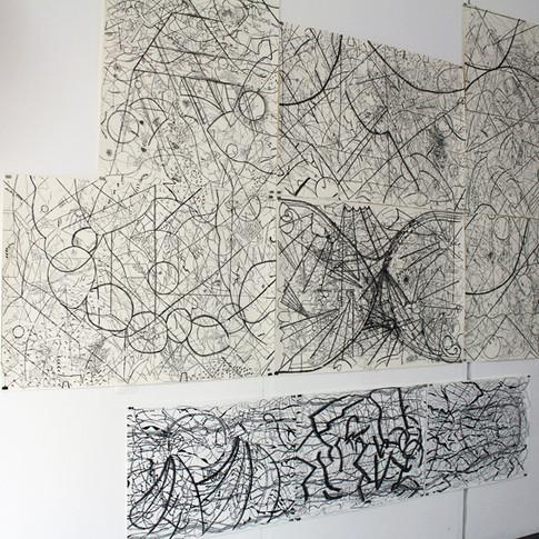 pen drawing, HANMISUK 2018-2019