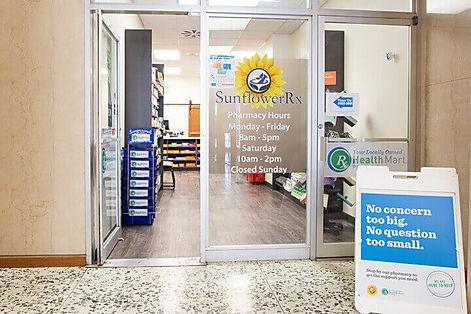 Sunflower Rx Pharmacy Entrance