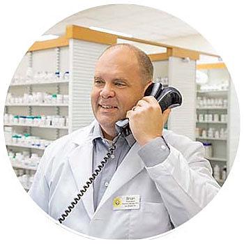 Brian Pharmacist on the Phone