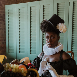 """Poise"" (2021)  Photo by Jess Jones Styling by Jess Jones and Aimée Okotie-Oyekan"