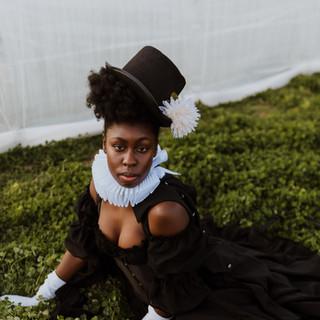 """Clover"" (2021)  Photo by Jess Jones Styling by Jess Jones and Aimée Okotie-Oyekan"