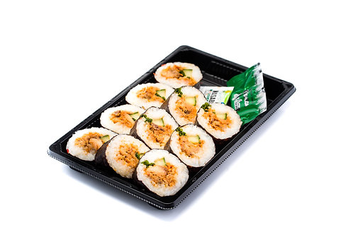 Sushischaal  Futomaki Makreel pikant