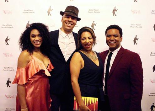 Beau Dixon at Dora Mavor Moore Awards