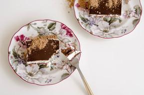 עוגת ביסקוויטים שוקולד שוקולד