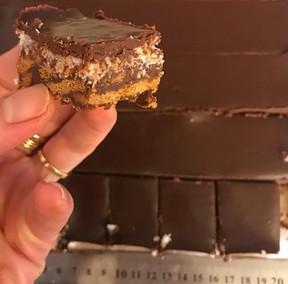 חיתוכיות לוטוס, שוקולד וקוקוס