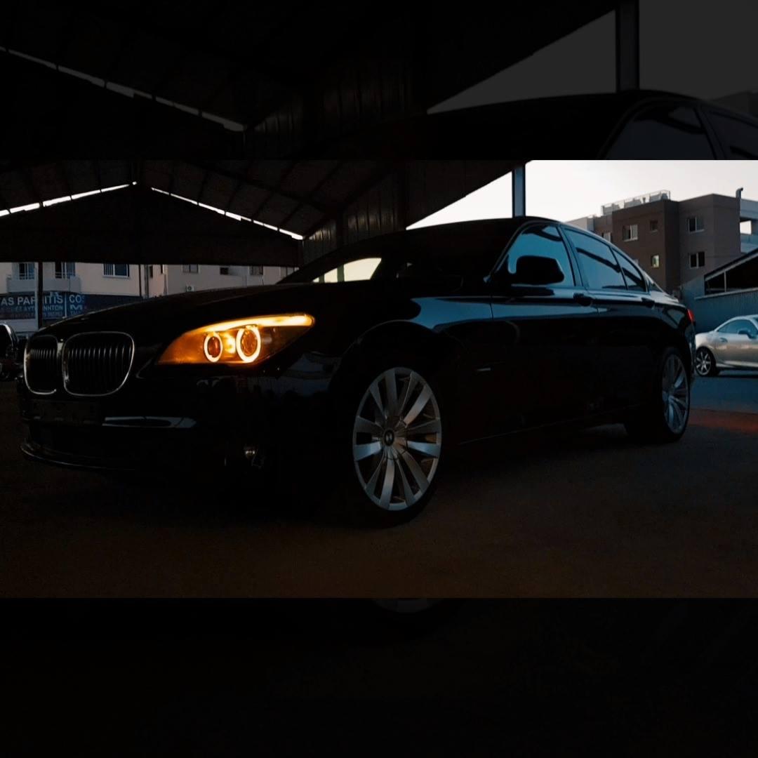 BMW 740D, 2013