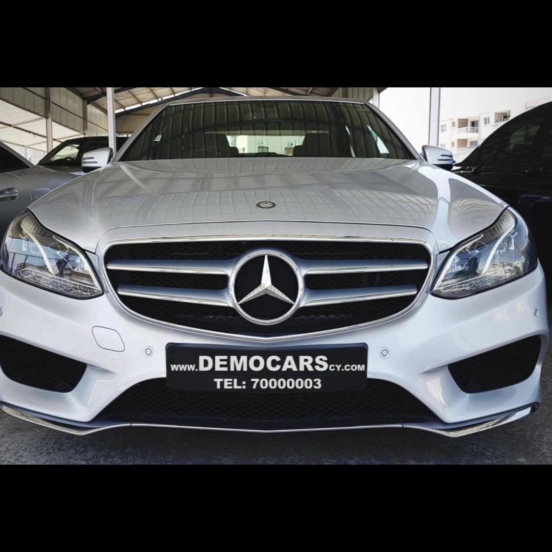 Mercedes E300 AMG Sport Bluetec Hybrid, 2014