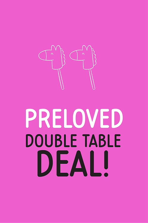 Pre Loved double table deal