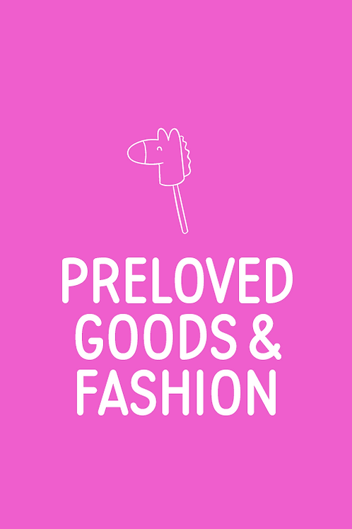 Pre Loved Goods & Fashion Stall