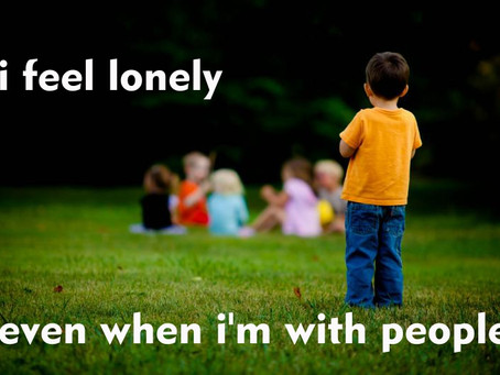 I Feel Lonely...