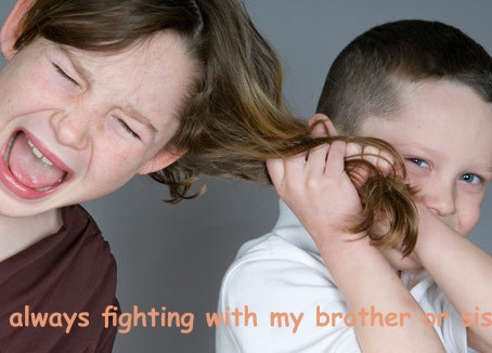 I Fight With My Brother or Sister