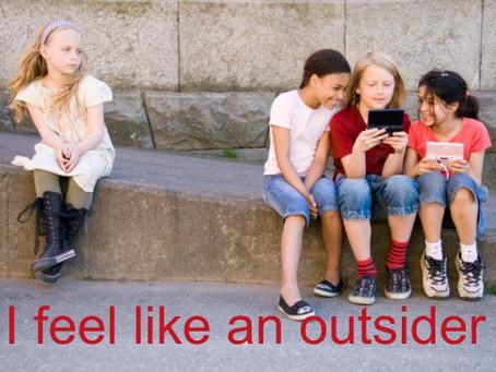 I feel like an outsider