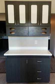 Custom Laminate Cabinetry
