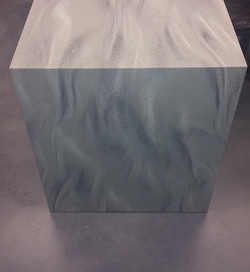 Solid Surface V-Grooved Edge
