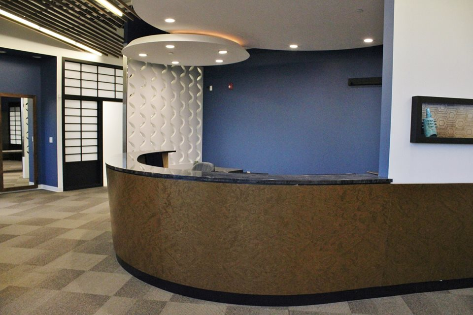 Custom Cantilever Reception