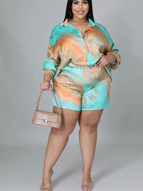 """The """"Melissa Marble"""" two piece"""