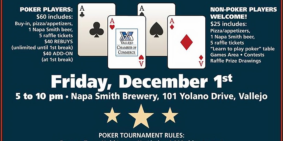 Vallejo Chamber Poker Tournament