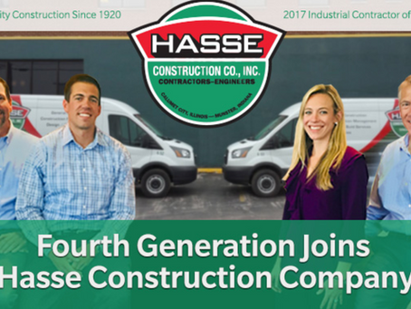 Fourth Generation Joins Hasse Construction Company