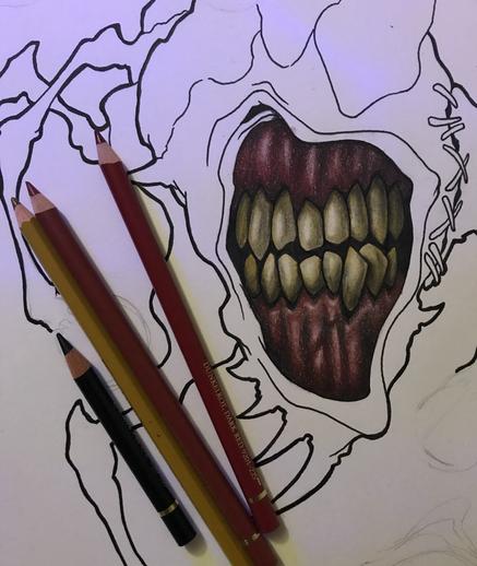 Smirking Monster