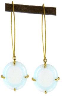 DELFINA EARRING - opaline quartz