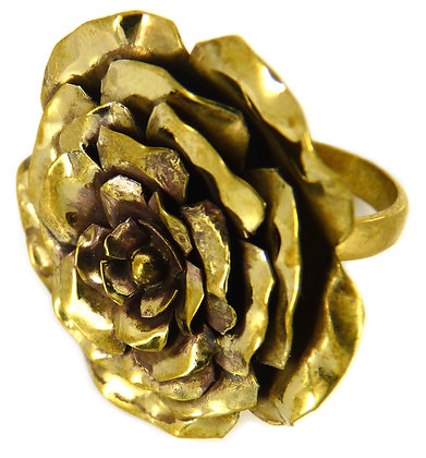 CALLY ROSE L RING - gold
