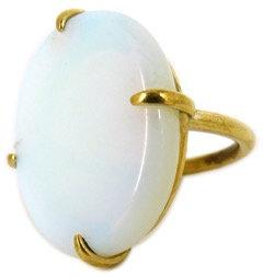 DELFINA RING - opaline quartz