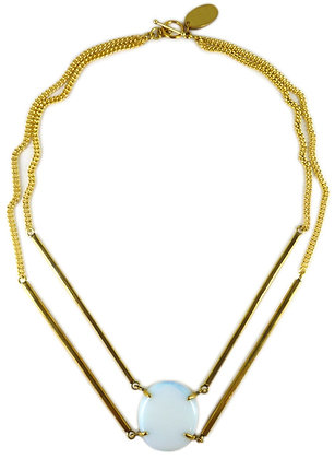 DEMETRA NECKLACE - opaline quartz