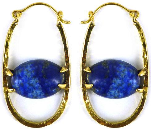 CRISPIN EARRING - lapis lazuli