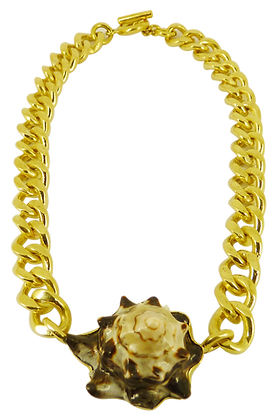 ANAHIT SHELL CHAIN NECKLACE