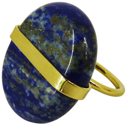 ALDER RING - lapis lazuli