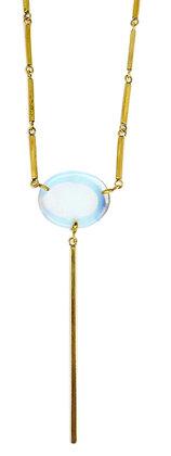 DAMICA NECKLACE - opaline quartz