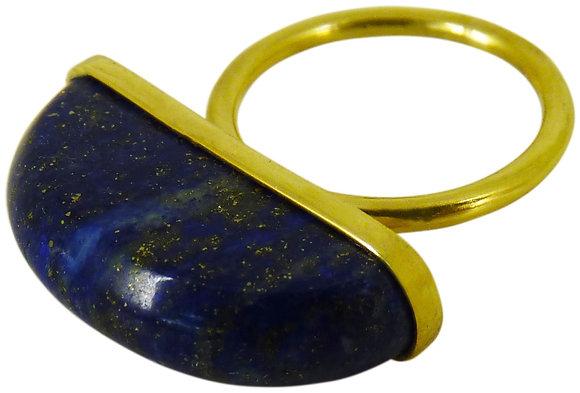 AURELIA RING - lapis lazuli