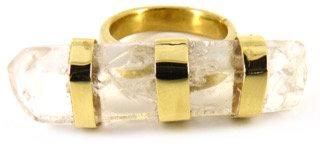 ANNORA RING - clear quartz
