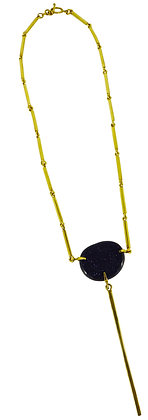 DAMICA NECKLACE - blue goldstone