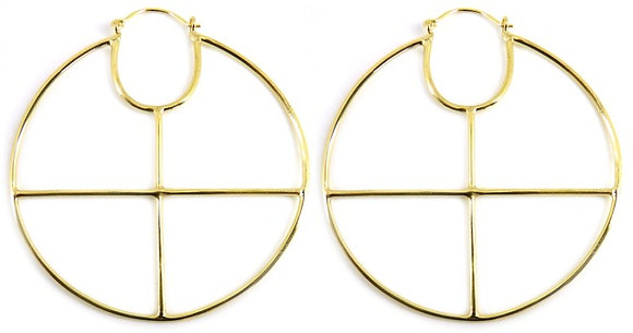 SOLAR CROSS HOOPS