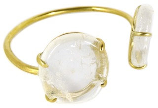 DAMARIA CUFF - clear quartz