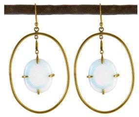DIMITRIA EARRING - opaline quartz