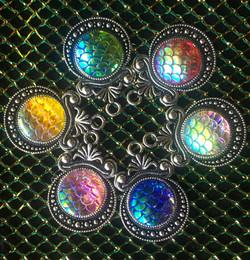 Silver base Mermaid Charms