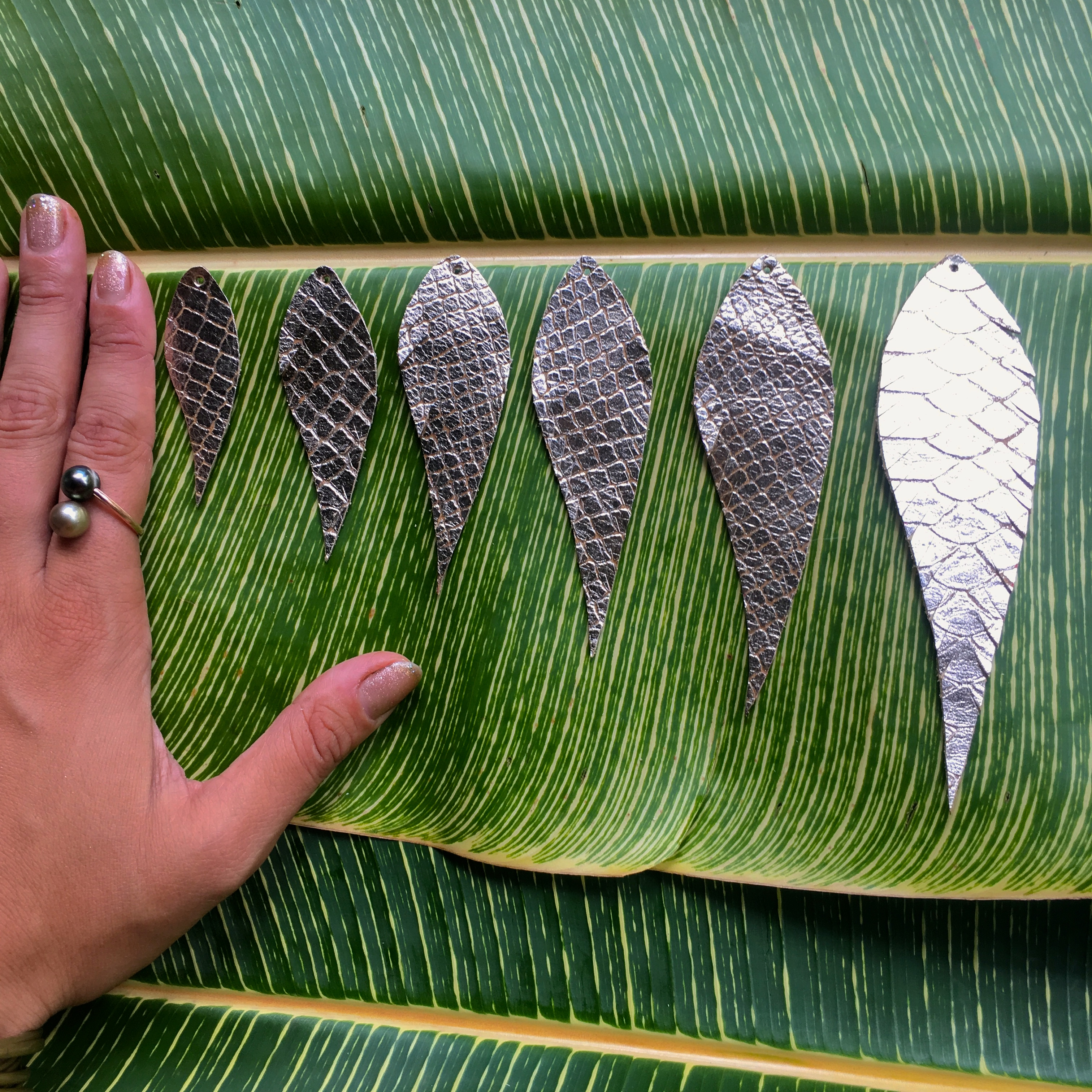 feather size