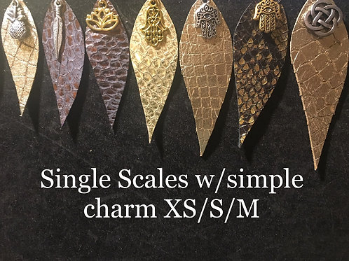 small scales with simple charm