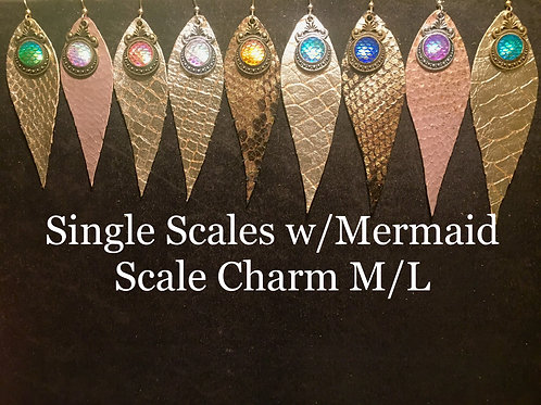 Single layer with Mermaid Scale charm