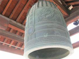 茨木市 安楽寺の鐘