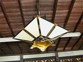 1810(文化7)年の菱灯籠